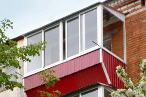 Примеры работ — балкон с ромбовидным выносом