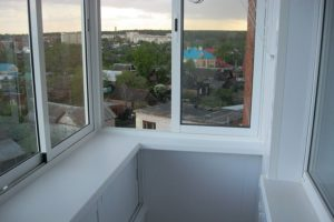 Примеры работ — остекление балкона