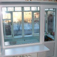 Примеры работ — балконный блок