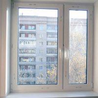 Примеры работ — двухстворчатое окно