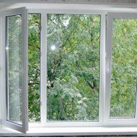 Примеры работ — трехстворчатое окно